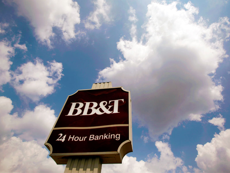bb&t credit card connection