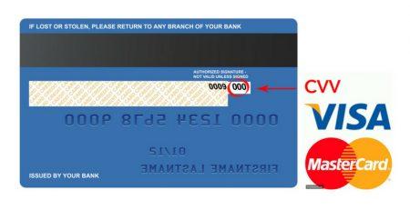 cvc credit card