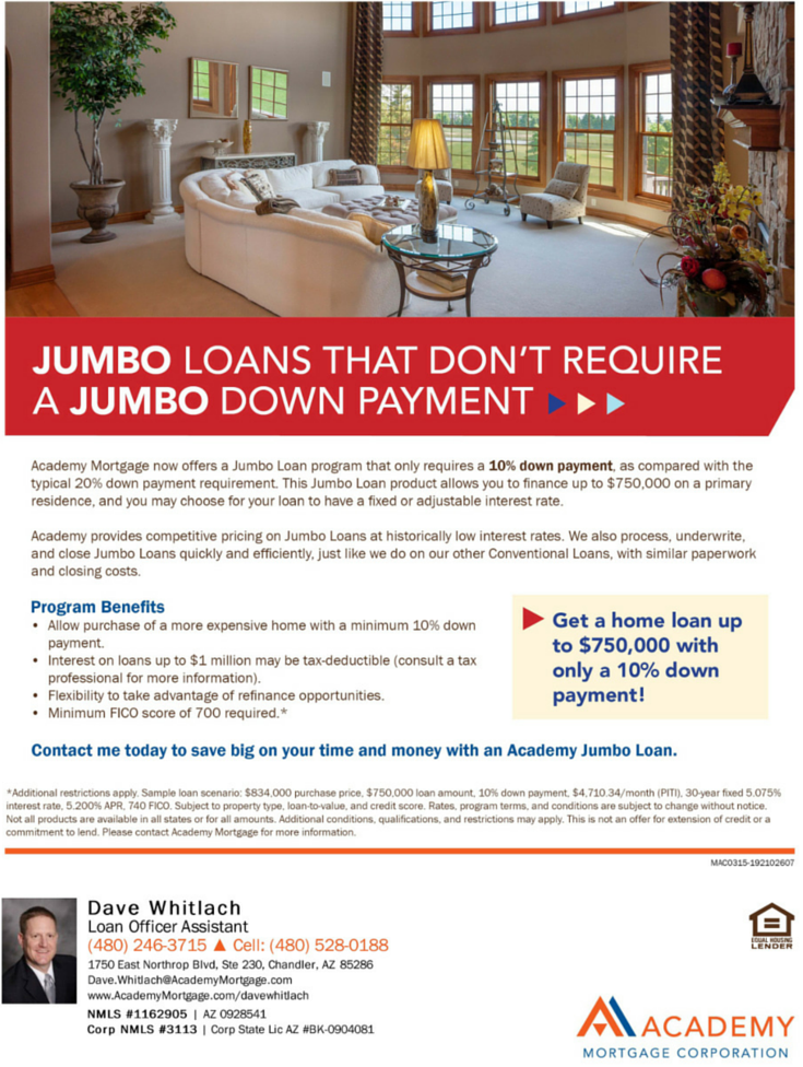 academy mortgage payment photo - 1