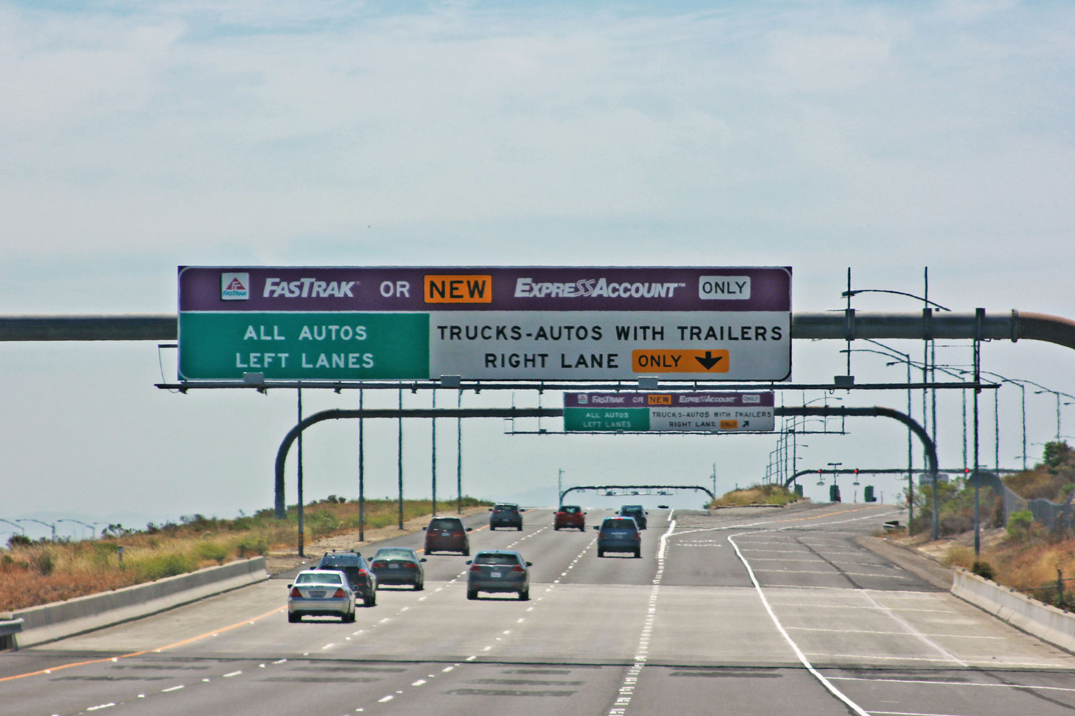 california toll road payment photo - 1