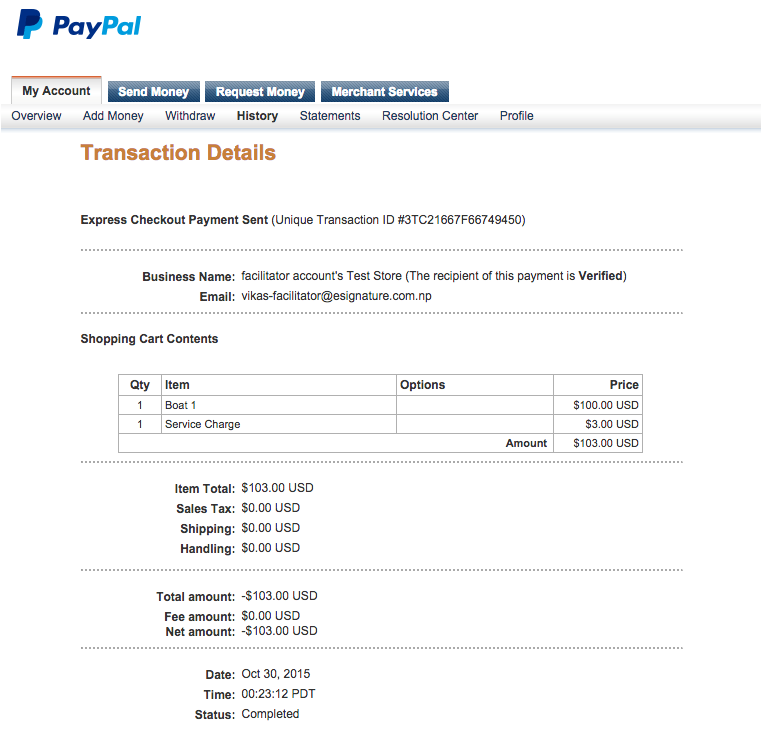 cancel payment paypal photo - 1