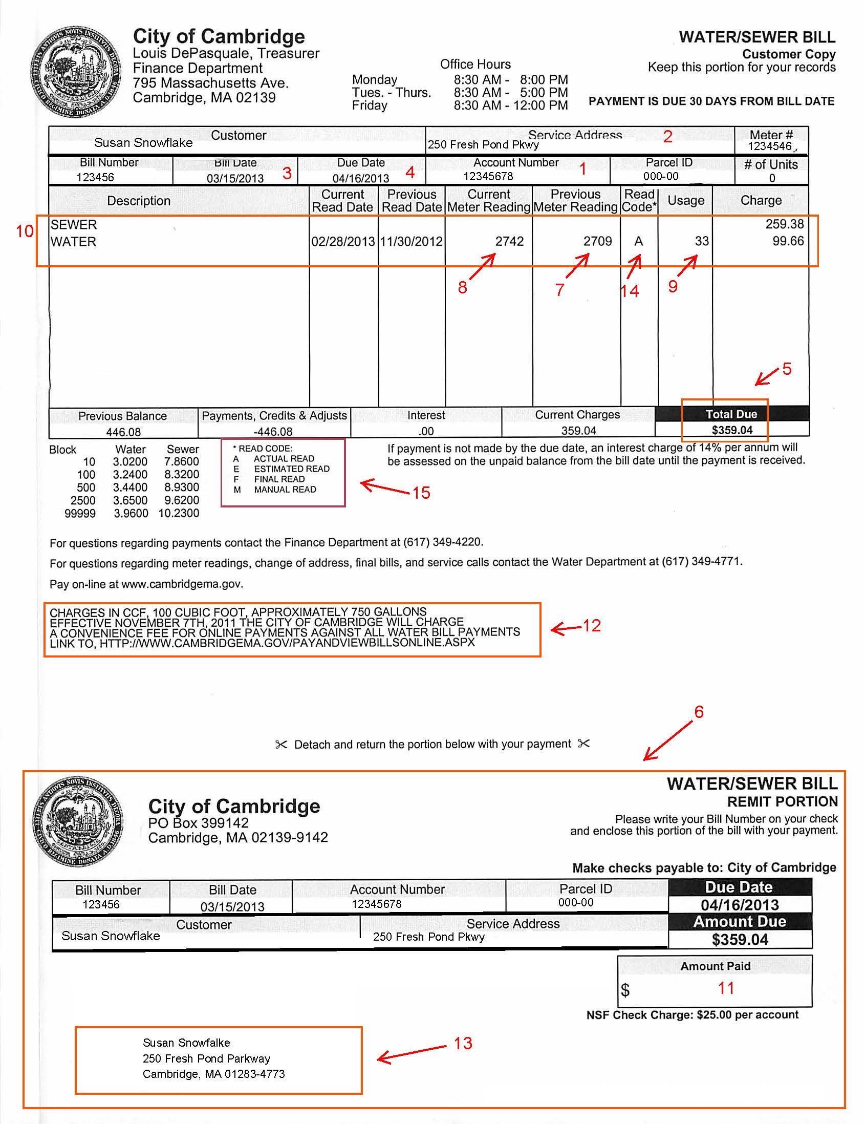 city of chicago water bill payment photo - 1