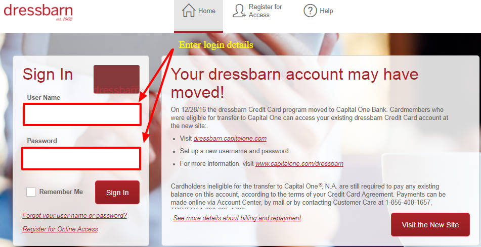 dressbarn online payment photo - 1