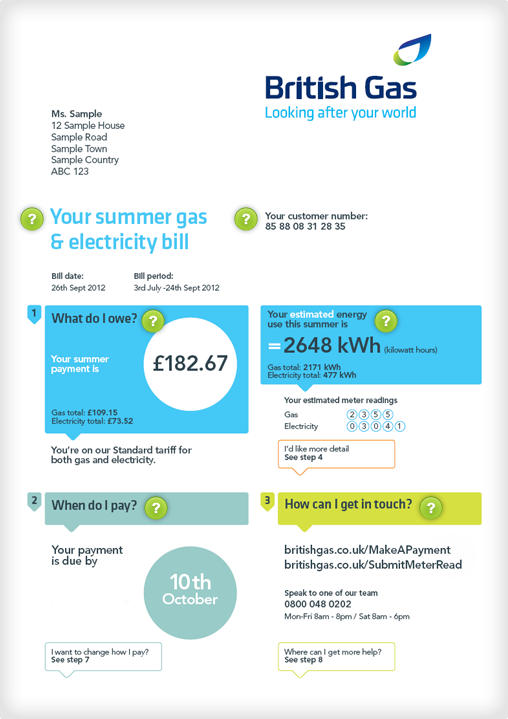 gas bill payment photo - 1