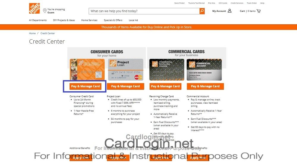 home depot online payment photo - 1