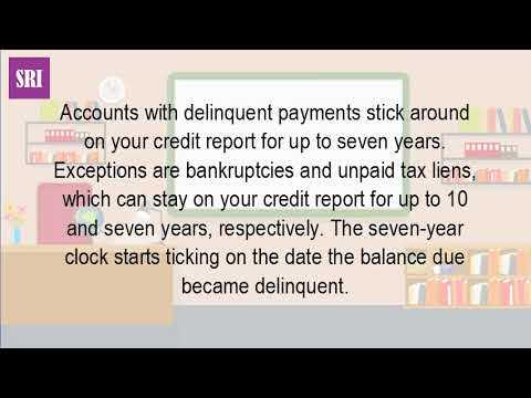how long does a late payment stay on your credit photo - 1