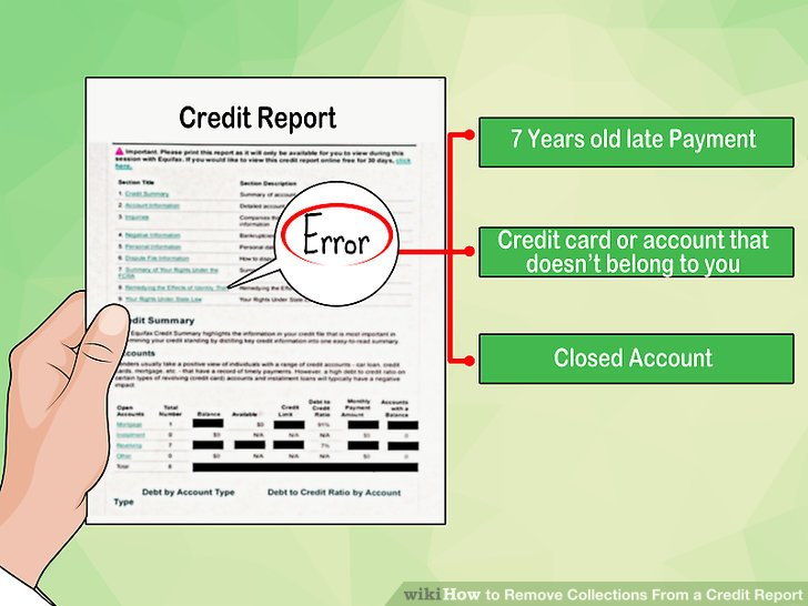 how to remove late payment from credit report photo - 1