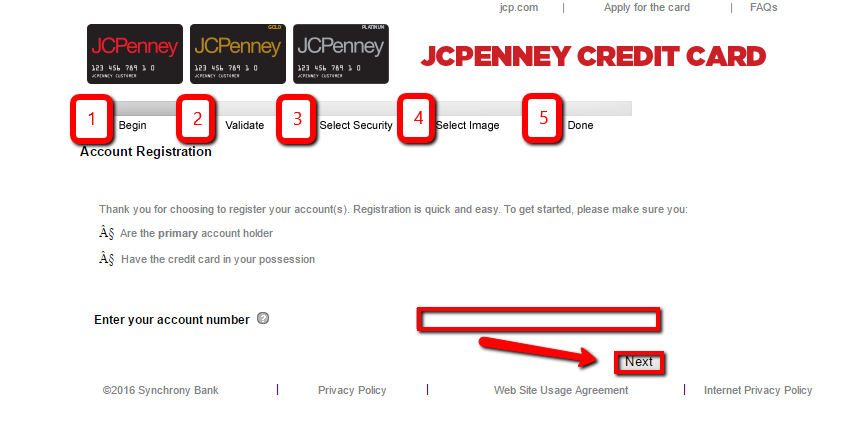 jcpenney credit card login payment photo - 1