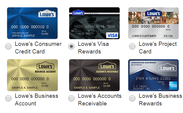lowes credit card online payment photo - 1
