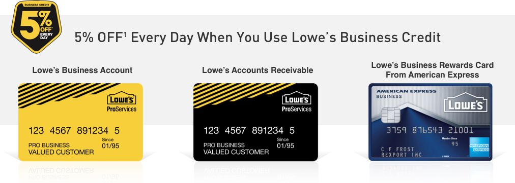 lowes online credit card payment photo - 1