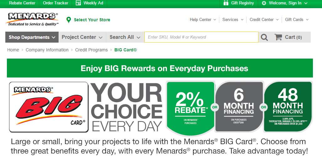 menards payment photo - 1
