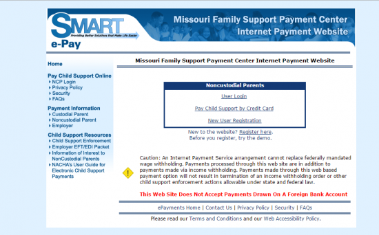 missouri child support online payment photo - 1