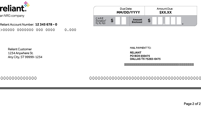 txu electric bill payment photo - 1