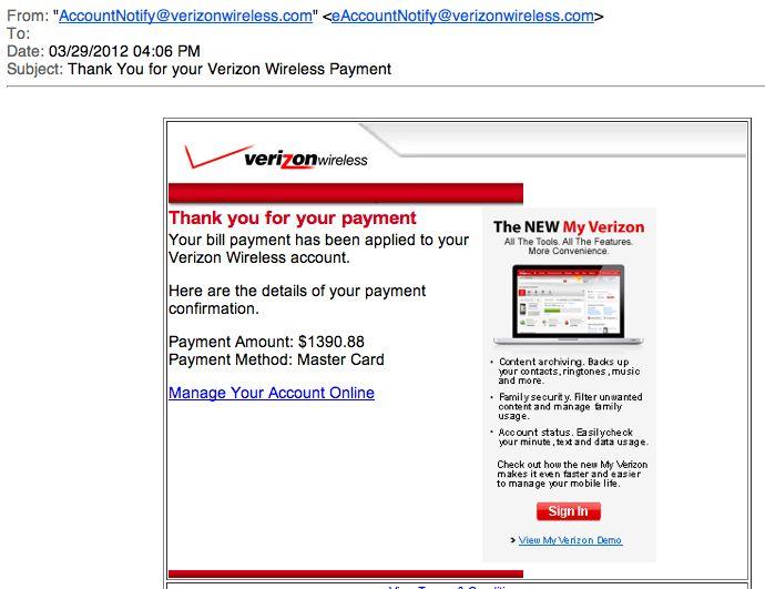 verizon payment center photo - 1