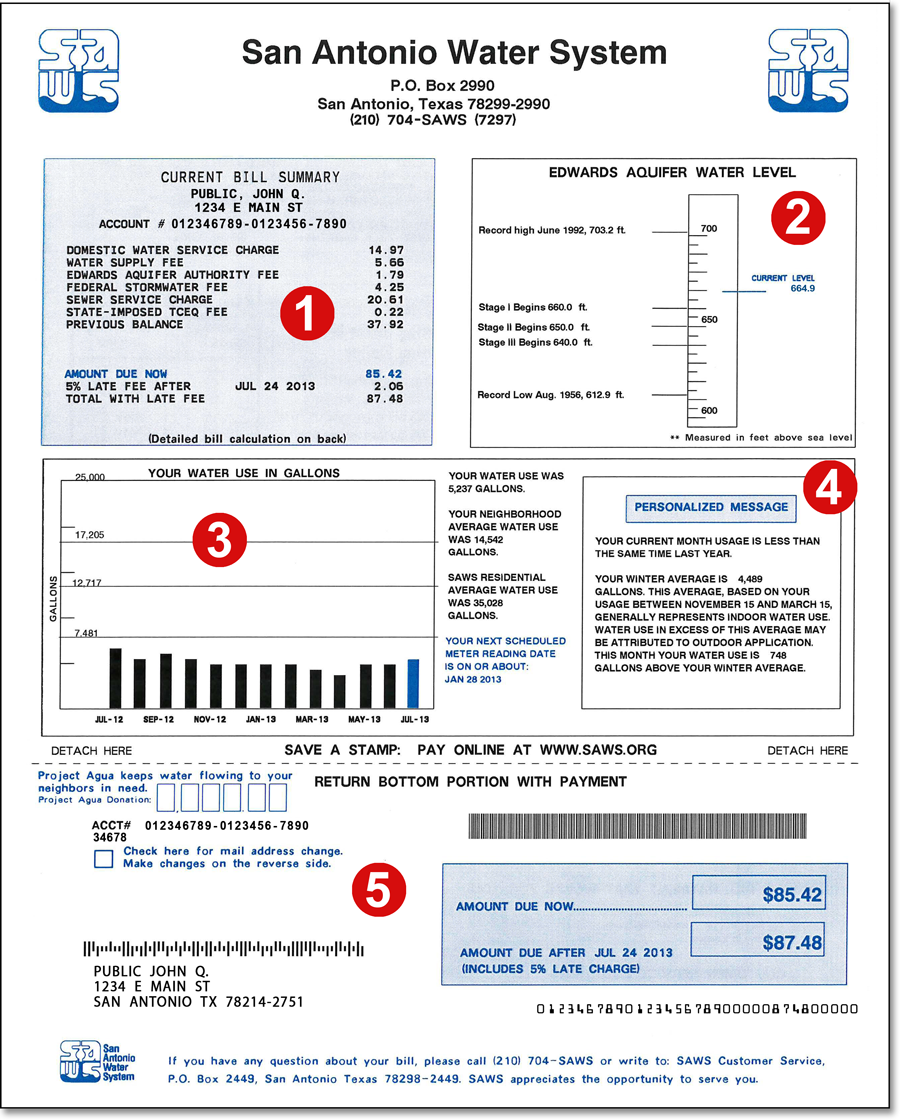 water bill payment online photo - 1